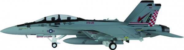 "McDonnell Douglas F/A-18F Hornet US Navy VFA-211 ""Fighting Checkmates"" Scale 1/200"