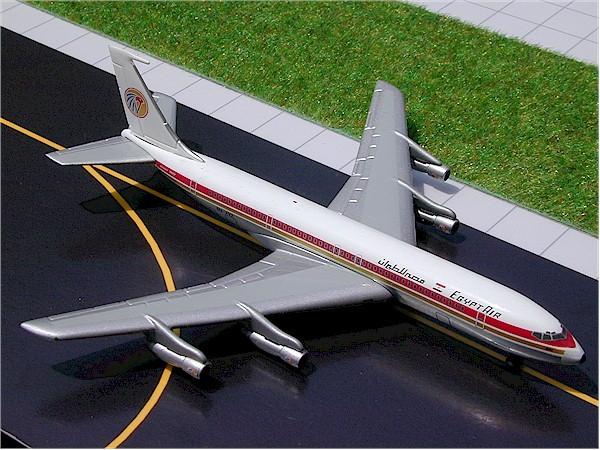 Boeing 707-366C Egypt Air SU-AVZ Scale 1/400