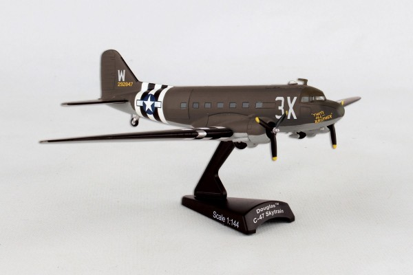 POSTAGE STAMP Douglas C-47 Skytrain That´s All Brother Scale 1/144