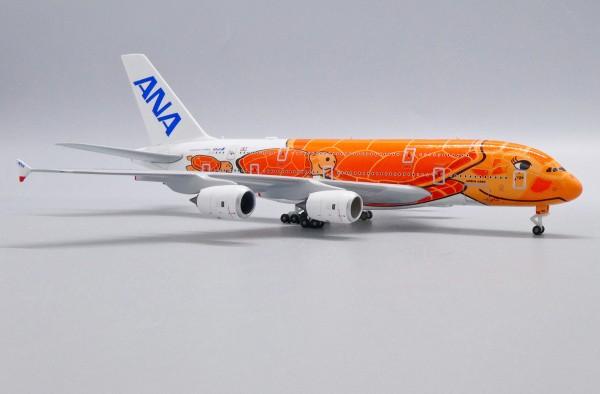 "Airbus A380-800 All Nippon Airways (ANA) ""Flying Honu - Ka La Livery"" JA383A Scale 1/500"
