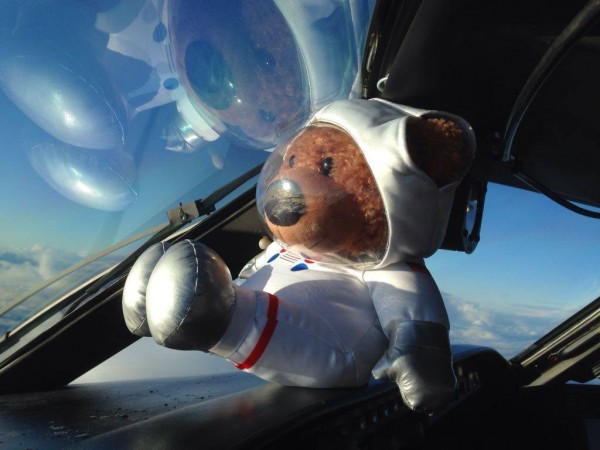"Astronautbär/ Astronaut bear ""Apollo"" 25cm"