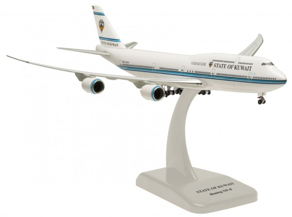 Boeing 747-8 State of Kuwait Inflight Wings Scale 1:500