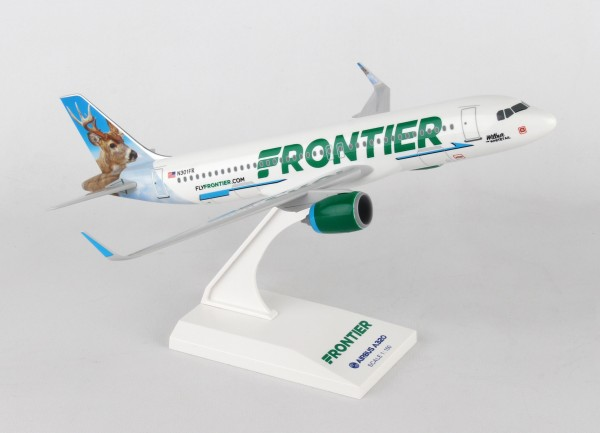 Airbus A320neo Frontier Wilbur Whitetail Scale 1/150