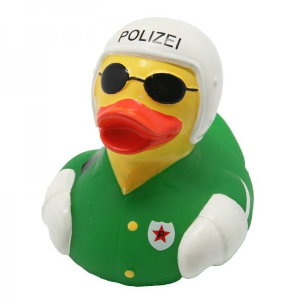"""Quietsche-Ente """"Motorradpolizei"""" / Rubber duck """"Motorcycle Police"""""""