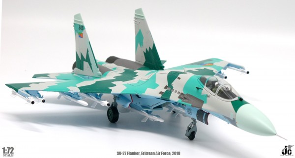 Sukhoi SU-27 Flanker Eritrean Air Force 2010 Scale 1/72