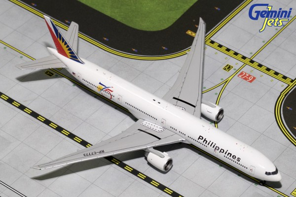 "Boeing 777-300ER Philippine Airlines ""75th Anniversary"" Scale 1/400"