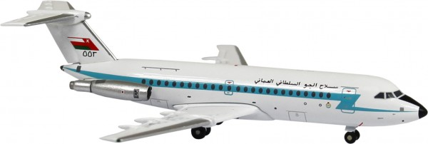 British Aerospace BAC 111-400 Oman Air Force GS Scale 1/400