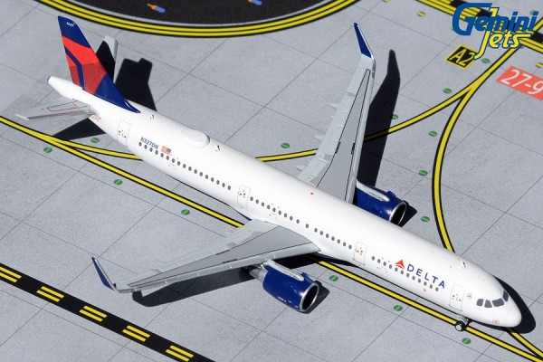 Airbus A321 Delta Airlines Scale 1/400