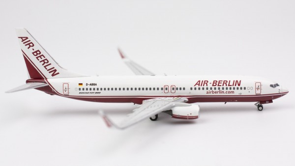 """Boeing 737-800 Air Berlin """"late """"1990s"""" Colors"""" D-ABBA Scale 1/400"""