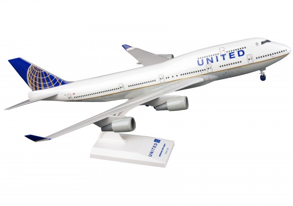 "Boeing 747-400 United Airlines ""Post Co Merger"" Scale 1/200"