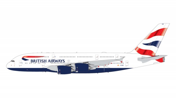 Airbus A380-800 British Airways Scale 1/200