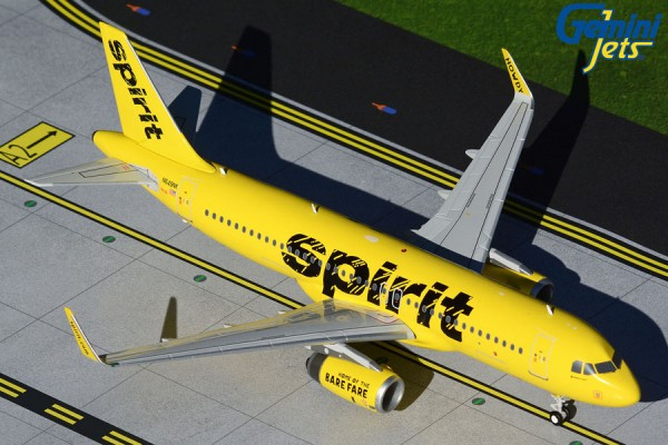Airbus A320-200 Spirit Airlines Scale 1/200