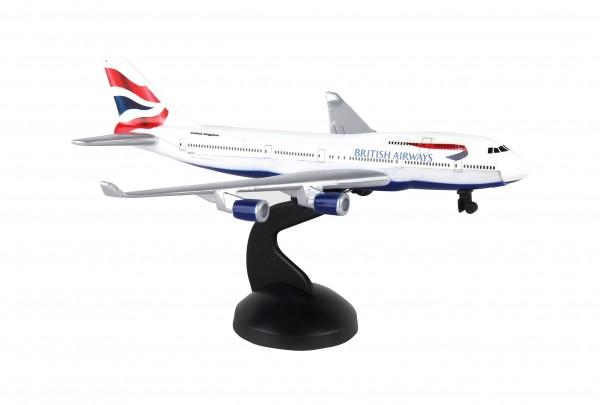 Boeing 747 British Airways Single Toyplane