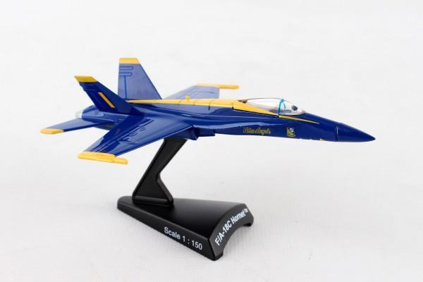 POSTAGE STAMP McDonnell Douglas F/A-18A Hornet Blue Angels 1/150