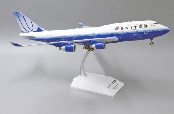 """Boeing 747-400 United Airlines """"U.S. Olympic Team"""" N199UA Scale 1/200"""