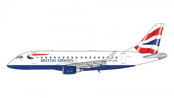 Embraer 170 British Airways CityFlyer G-LCYG Scale 1/400