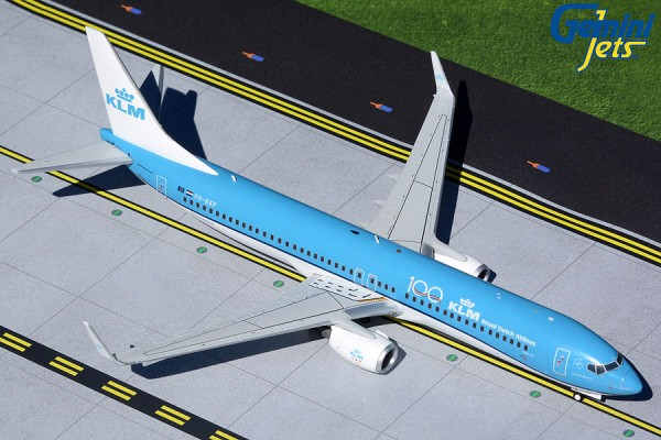 "Boeing 737-900 KLM ""KLM 100"" PH-BXP Scale 1/200"