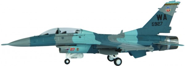 "Lockheed Martin F-16D Fighting Falcon Blk 52P USAF ""Gomers"" WA 927 Scale 1/200"