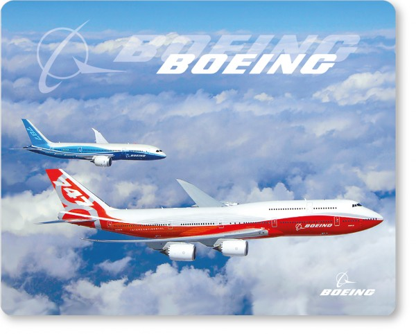 Boeing 747-8i & 787 air to air Mousepad