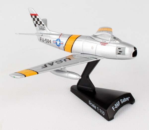 POSTAGE STAMP North American F-86 Sabre Mig Mad Marine Scale 1/110