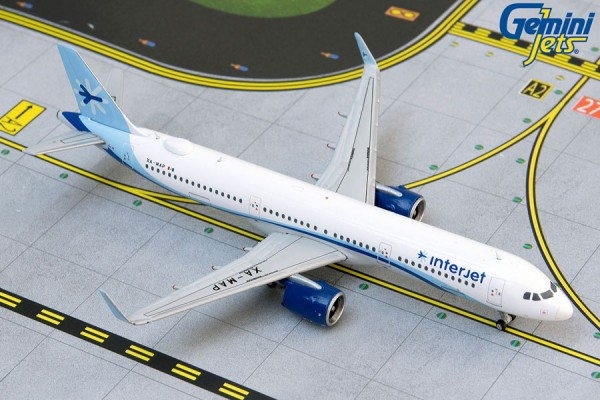 Airbus A321neo Interjet XA-MAP Scale 1/400