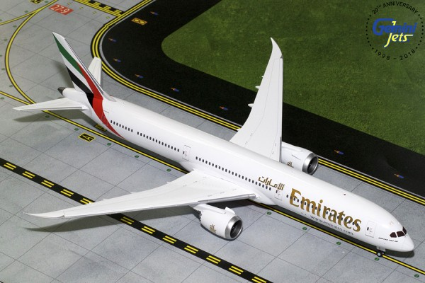 Boeing 787-10 Dreamliner Emirates Scale 1/200
