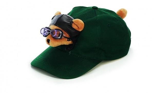Pilotenbär Baseball Schildmütze / pilot bear baseball cap