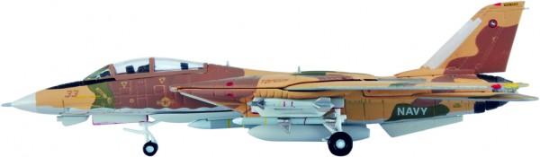 Grumman F-14A Tomcat US Navy TOPGUN 33 Scale 1/200