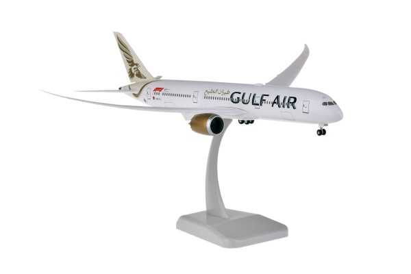 Boeing 787-9 Gulf Air with Radome Scale 1:200