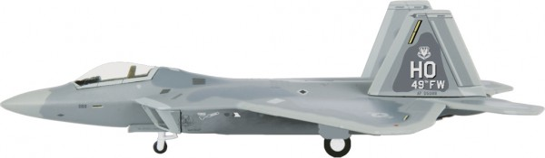 Lockheed Martin F-22A Raptor USAF 49th FW Scale 1/200